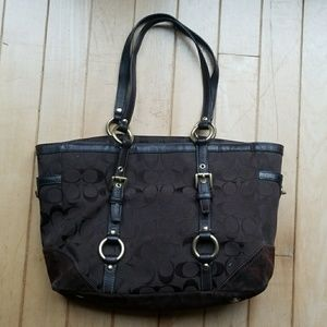 Coach Mini Tote Style Purse